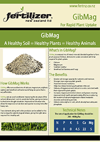 gibmag Fertiliser fertilizer nz organic liquid humate phosphate calcium nitrogen magnesium microbes