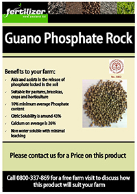Guano Phosphate Fertiliser fertilizer nz organic liquid humate phosphate calcium nitrogen magnesium microbes