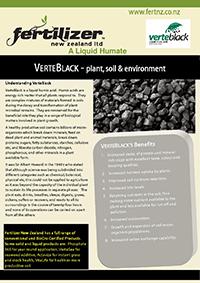verteblack Fertiliser fertilizer nz organic liquid humate phosphate calcium nitrogen magnesium microbes