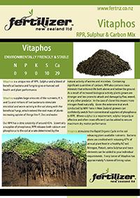 Vitaphos Fertiliser fertilizer nz organic liquid humate phosphate calcium nitrogen magnesium microbes